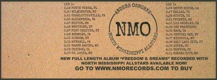NMO tour dates