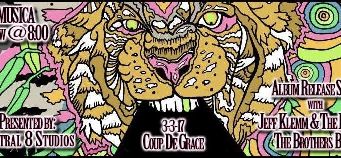 Coup de Grace's album release show on March 3rd, 2017