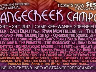 StrangeCreek 2017 lineup