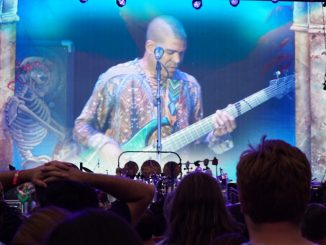 Oteil Burbridge at Citi Field - photo by Karen Nourse