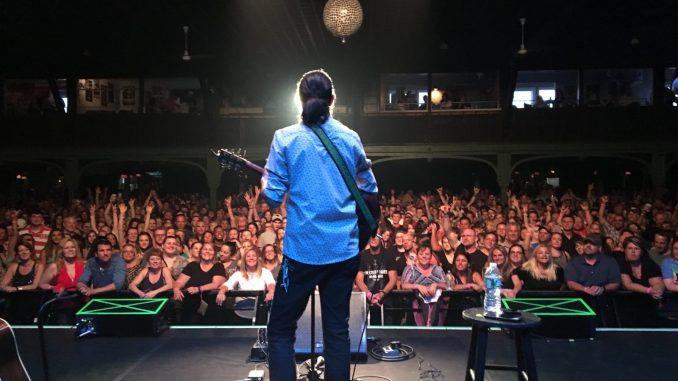 Jay Psaros performs at Hampton Beach's Casino Ballroom