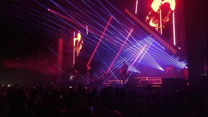 OneRepublic at Bank of NH Pavilion - photo by Louis Gendron