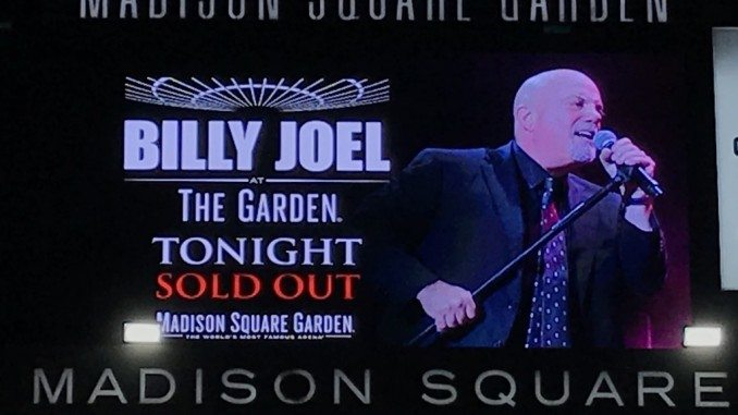 The piano man billy joel live from msg january 11th - Billy joel madison square garden february 21 ...