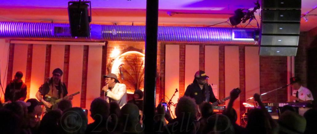 Third World plays to a packed crowd at Hawks & Reed in Greenfield, MA - photo by Kelly D