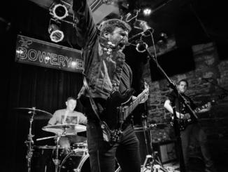 Bobby Mahoney and his band at the Bowery Electric-photo by Mark Ashe