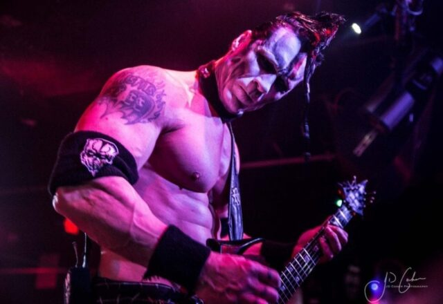 Doyle von Frankenstein looms over the crowd at Blackthorn 51 - photo by JD Cohen