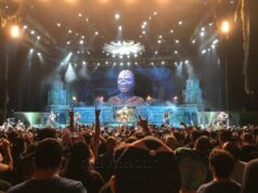 EDDIE! Iron Maiden at Xfinity Center - photo by Stacey Rose