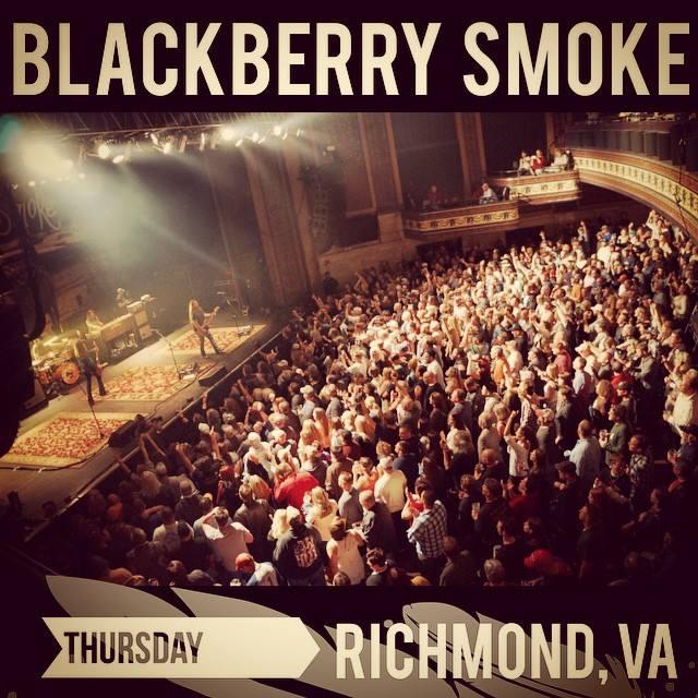 blackberry smoke richmond