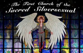 The logo for the First Church of the Sacred Silversexual