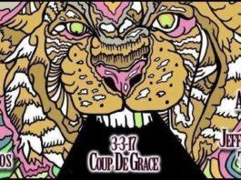 Coup de Grace's album release show on March 3rd, 2017