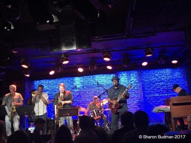 Jaimoe's Jasssz Band lineup - photo by Sharon Budman